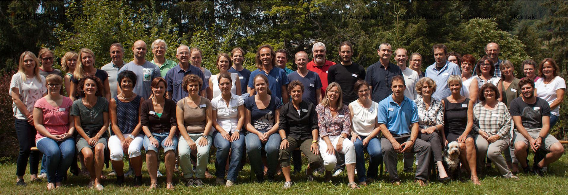 Das Team der Klinik Vogt